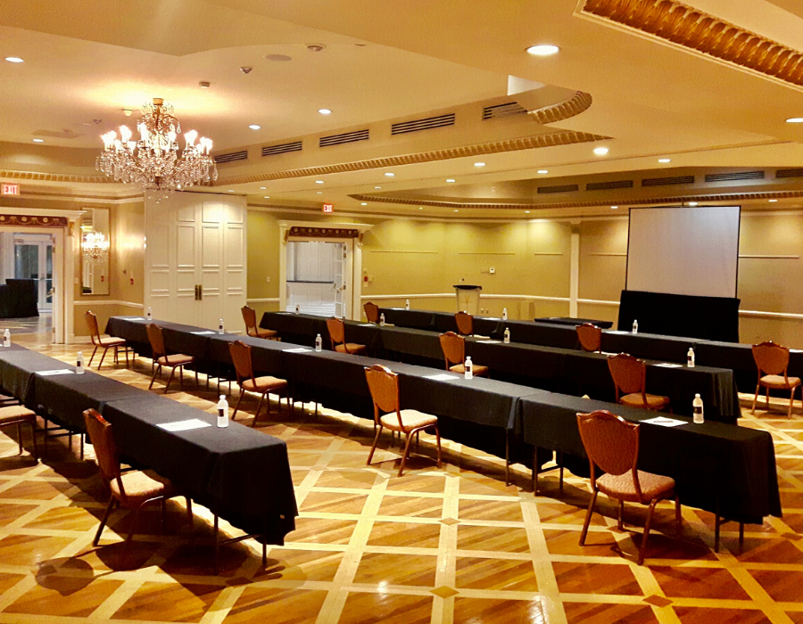 safety initiatives for meetings in Ontario at Vintage Hotels