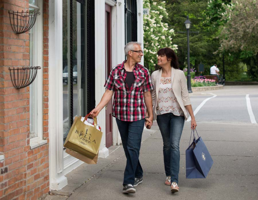 Shopping in Niagara-on-the-Lake's Heritage District