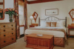The Main Mill Guest Room antique furnishing at Millcroft Inn & Spa in Caledon