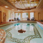 Wellness center relaxation pool at the Prince of Wales Hotel in Niagara-on-the-Lake