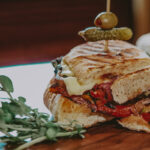 Toasted sandwich from Panini Bar at the Prince of Wales Hotel in Niagara-on-the-Lake