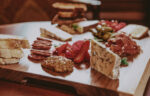 Charcuterie board of cheeses and meats from Churchill Lounge in Niagara-on-the-Lake