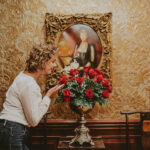 Daily fresh floral arrangements located at the Prince of Wales Hotel