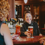 Churchill Lounge pub for casual dining at the Prince of Wales Hotel in Niagara-on-the-Lake