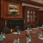 Elegant Victorian décor in modern meeting rooms at the Prince of Wales Hotel in Niagara-on-the-Lake