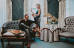Couple enjoying the Premium Guest Room experience at the Prince of Wales Hotel