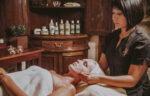 A relaxing facial treatment at the Secret Garden Spa in Niagara on the Lake