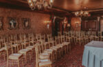Arc wedding right seating layout of Hampton Court wedding venue at the Prince of Wales Hotel in Niagara-on-the-Lake