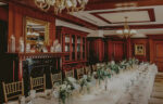 Three Feathers wedding venue layout at the Prince of Wales Hotel in Niagara-on-the-Lake
