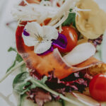 Custom selected food catered to a Wedding at the Prince of Wales Hotel in Niagara-on-the-Lake