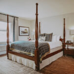 Comfortable and luxurious accommodations at the Pillar & Post Hotel in Niagara-on-the-Lake