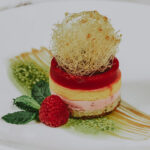 Dessert from Cannery Restaurant at the Pillar & Post Hotel in Niagara-on-the-Lake