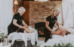Indulge in a couple's massage with experienced registered massage therapists