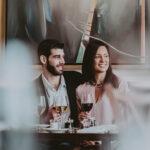 Couple having dinner together at Inn On The Twenty in Jordan Village