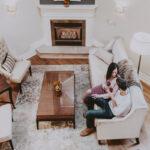 Couple spending a romantic weekend away at Inn On The Twenty in Jordan Village