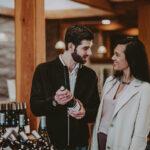 Couple touring vineyards in Wine Country at Inn On The Twenty in Jordan Village