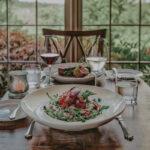 Table for two at Inn On The Twenty in Jordan Village