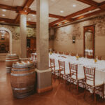 Private dining in wine country at Inn on the Twenty in Jordan, ON