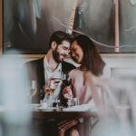 Couple dining at Inn On The Twenty Restaurant at Inn On The Twenty in Jordan Village