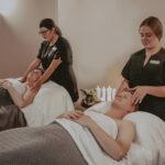 Couple spa treatments at Inn On The Twenty in Jordan Village