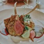 Artistic culinary work by Inn On The Twenty Restaurant chef at Inn On The Twenty in Jordan Village