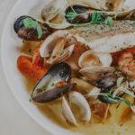Seafood platter from Inn On The Twenty Restaurant at Inn On The Twenty in Jordan Village