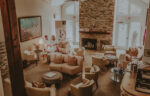 Couple sitting in spa seating area at Millcroft Inn & Spa in Caledon