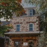 Historic limestone building conference center at Millcroft Inn & Spa