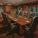 Meeting room surrounded by natural beauty at Millcroft Inn & Spa in Caledon