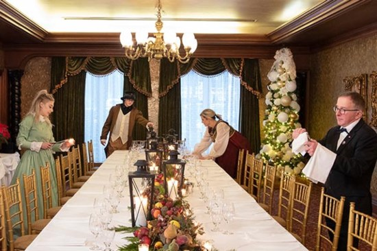 Dickensian Feast at Vintage Hotels in Niagara-on-the-Lake]