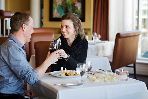 Romantic winter dining in Niagara-on-the-lake