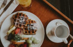 Gourmet breakfast at the Prince of Wales Hotel in Niagara-on-the-Lake