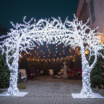 Vintage Hotels Christmas Wonderland Garden in Niagara on the Lake