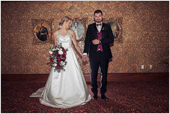 Deep Wedding Colour Scheme