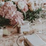 Wedding guest plated seat design at Inn On The Twenty wedding venues in Jordan Village