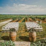 The Escarpment Site wedding venue at Inn On The Twenty in Jordan Village