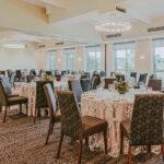 The Valley View Room wedding venue at Inn On The Twenty in Jordan Village
