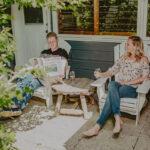 Couple enjoying modern accommodation amenities at Millcroft Inn & Spa in Caledon