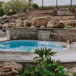 Hot Spring pools at the Millcroft Inn & Spa resort near Toronto