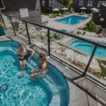 Experience the hot spring pools during your next getaway to the Millcroft Inn & Spa in Caledon, Ontario