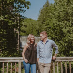Couple taking a personal country retreat at Millcroft Inn & Spa in Caledon