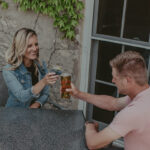 Couple dining at Millcroft Inn & Spa in Caledon