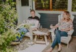 Couple lounging outdoors at Millcroft Inn & Spa in Caledon