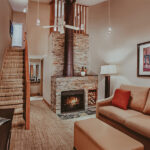 The Crofts Room accommodations at Millcroft Inn & Spa in Caledon