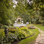 Millcroft's Riverside Wedding Garden wedding venue at Millcroft Inn & Spa in Caledon