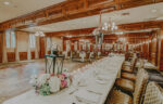 Upper Canada Hall for wedding receptions at the Pillar & Post Hotel in Niagara-n-the-Lake