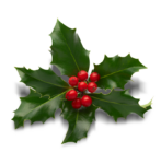 A sprig of holly at Prince of Wales Hotel in Niagara on the Lake