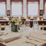 Elegant dining at Queen's Landing in Niagara on the Lake