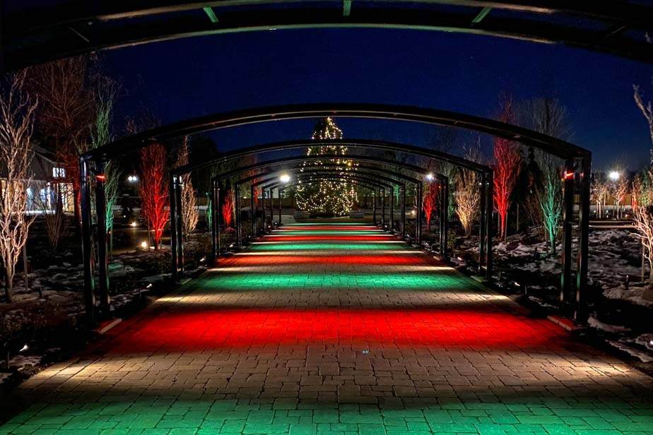 Vintage Hotels' Christmas Wonderland Garden