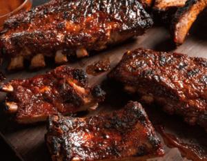 Charcoal BBQ Pork Back Ribs